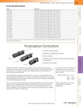 Polarization Controller, Manual