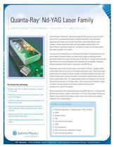 Quanta-Ray® Nd-YAG Laser Family
