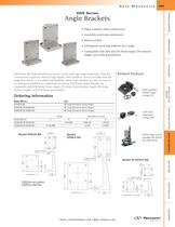 SDS Series Angle Brackets