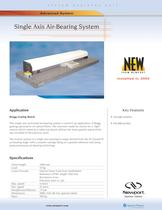 Single Axis Air-Bearing System