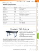 SlimLine� Workstation Table Systems