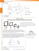 ULTIMA® Series Low Distortion Six-Point Mirror Mounts