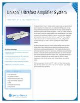 Unison� Ultrafast Amplifier System