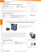 Variable Neutral Density Filter Rotation Mounts