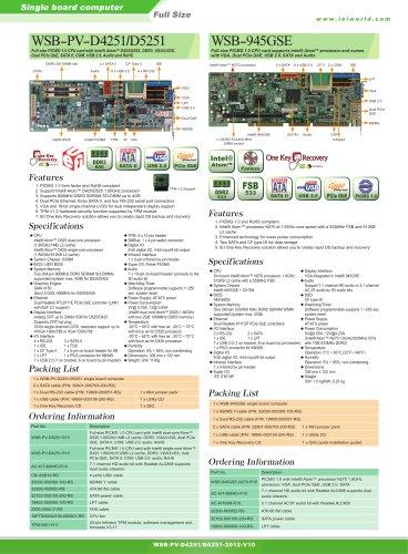 WSB-PV-D4251 D5251 WSB