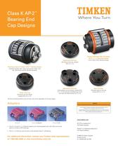 Class K AP-2? Bearing End  Cap Designs