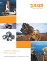 Timken&reg; Spherical Plain Bearings