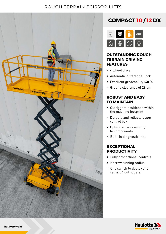 ... Array - compact 10 12 dx haulotte pdf catalogue technical rh pdf  directindustry com