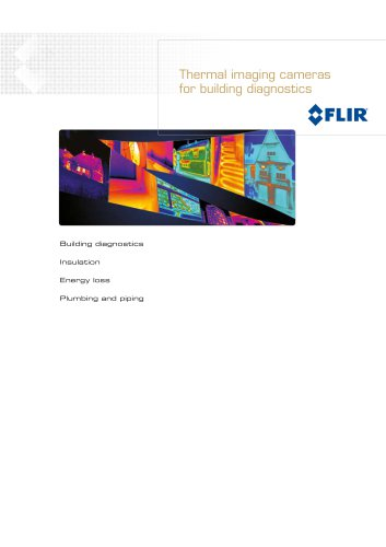 Thermal imaging cameras for Building diagnostics