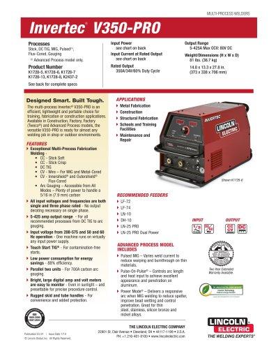 Invertec V350-pro инструкция - фото 7