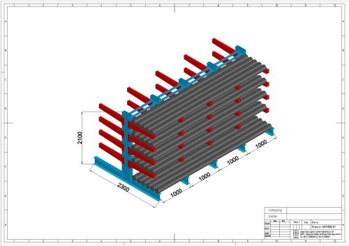 Cantilever Racking Model