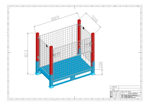 Wire Mesh Container