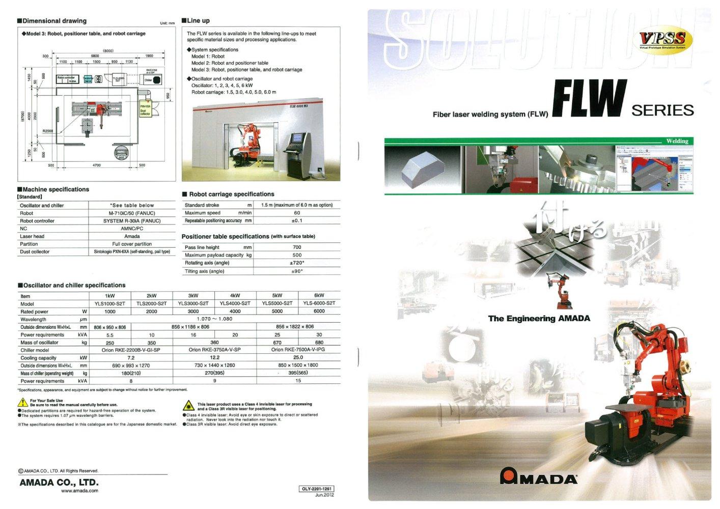 FO MII NT - AMADA - PDF Catalogs | Technical Documentation | Brochure