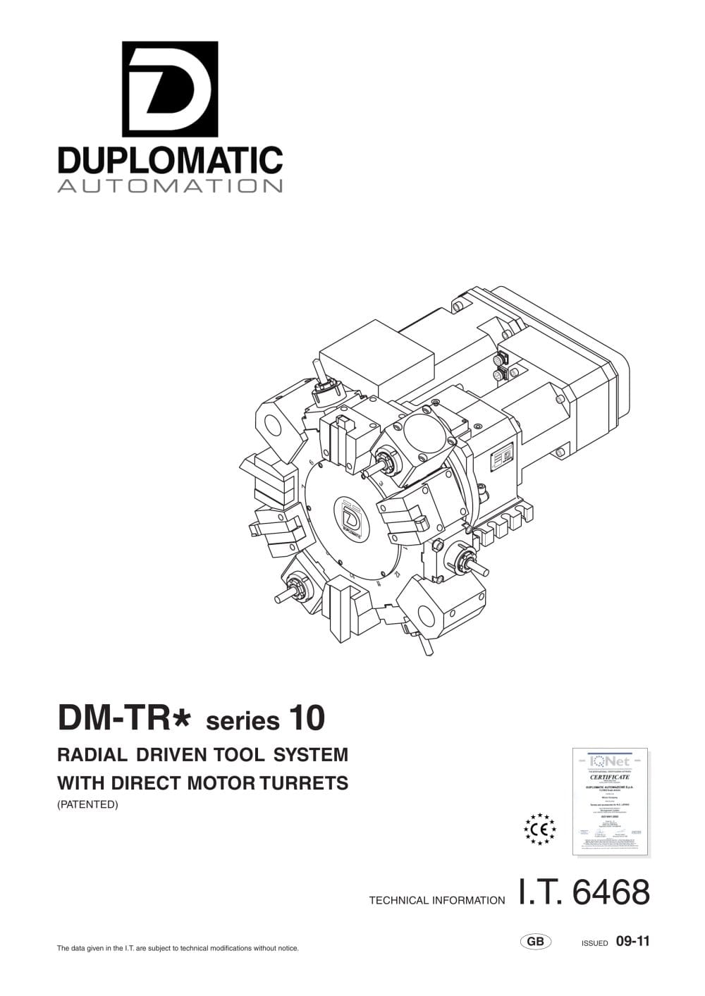 Dm Tr Series Duplomatic Automation Pdf Catalogue Technical Datatool System 3 Wiring Diagram 1 24 Pages
