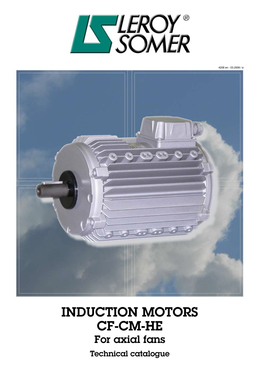 Induction motors for axial fans - LEROY-SOMER - PDF Catalogue ...