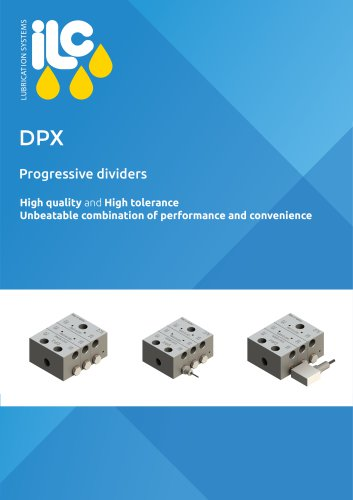 DPX Progressive Dividers Catalogue