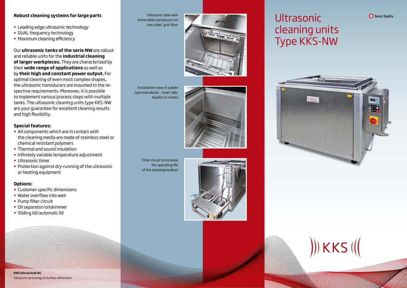Kks Ultrasonic Cleaning Units Type Nw Ultraschall Ag Pdf Of Filter Circuit 1 2 Pages