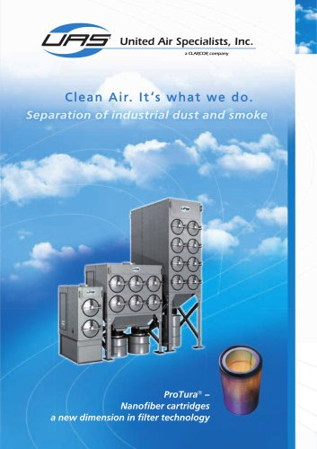 SFC Series Separation of industrial dust and smoke