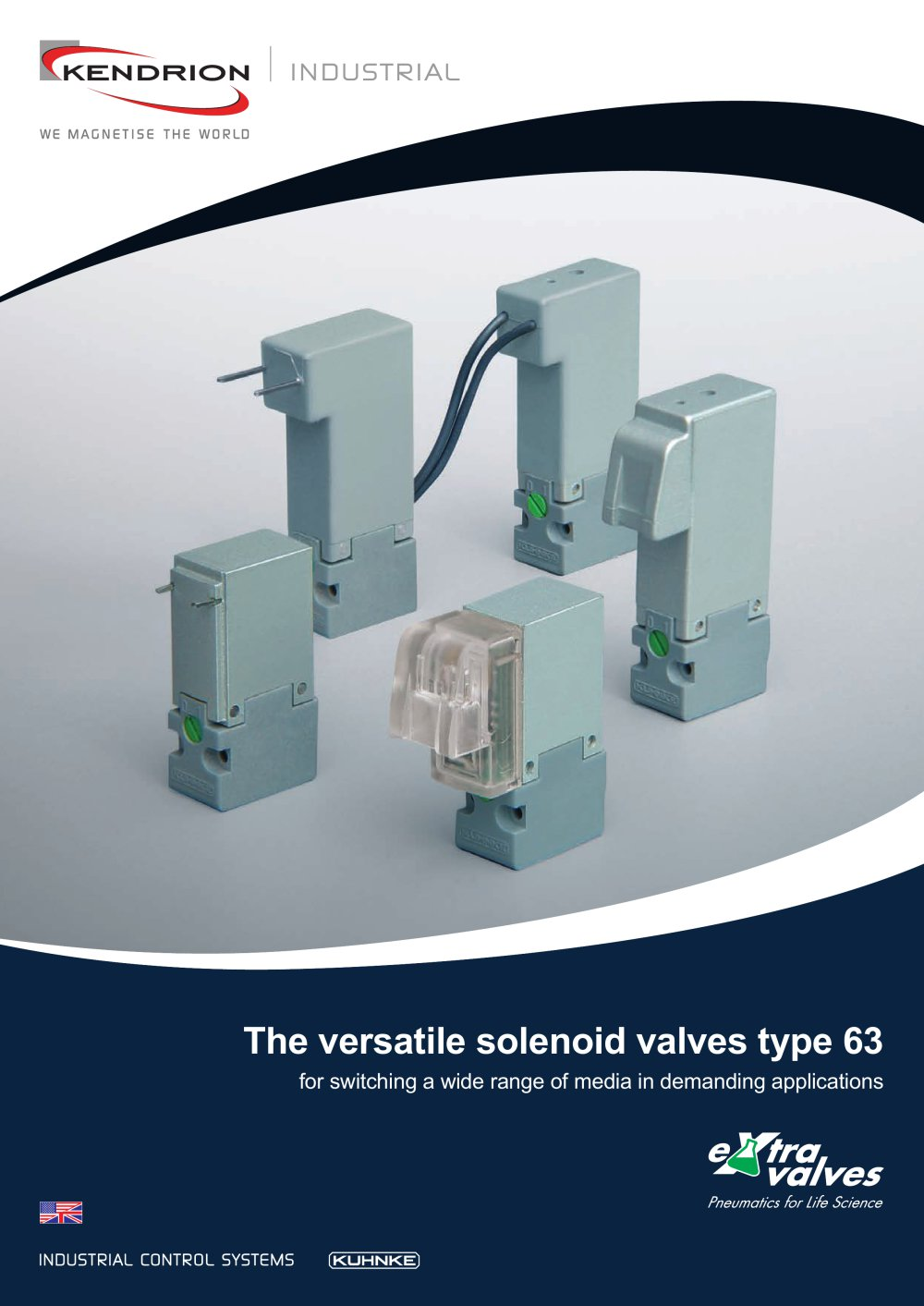 The versatile solenoid valves type 63 - Kendrion Kuhnke Automation ...