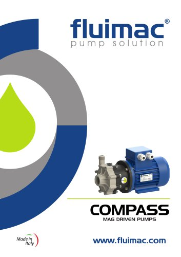 COMPASS - Mag Drive Centrifugal Pumps