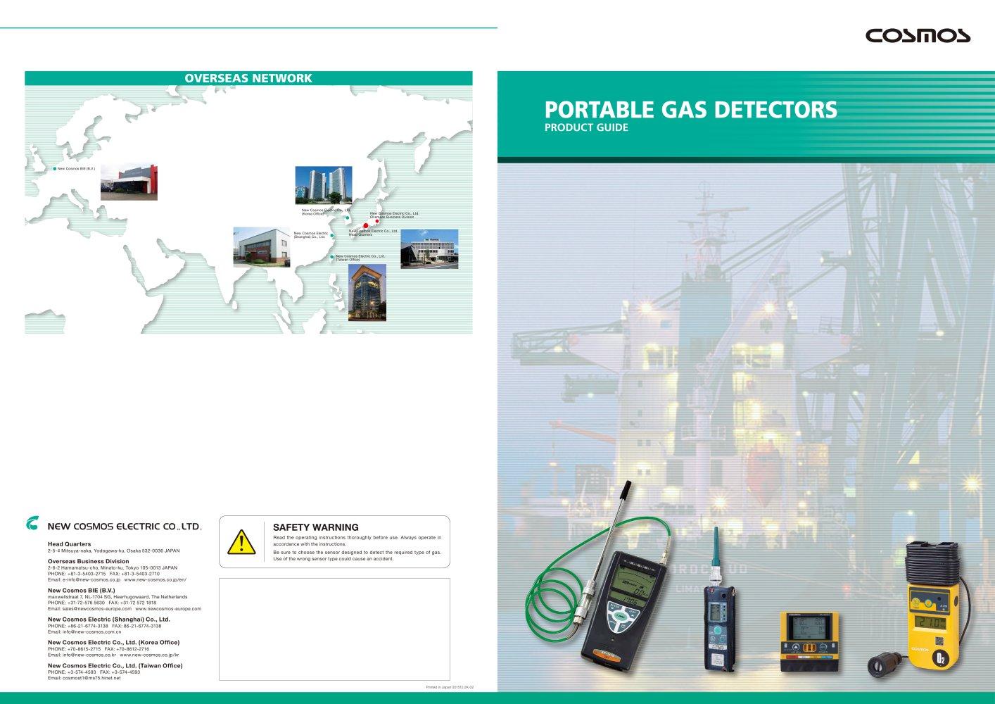 Portable detection - New Cosmos - PDF Catalogue | Technical ...