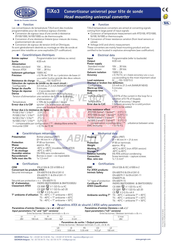 TiXo 3 series - GEORGIN S.A. - PDF Catalogue | Technical ...