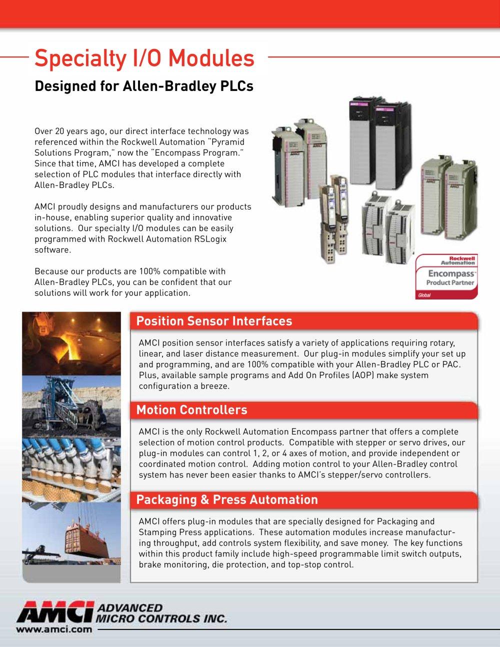 AMCI PLC Modules For Allen-Bradley PLCS & PACS - AMCI - PDF ...