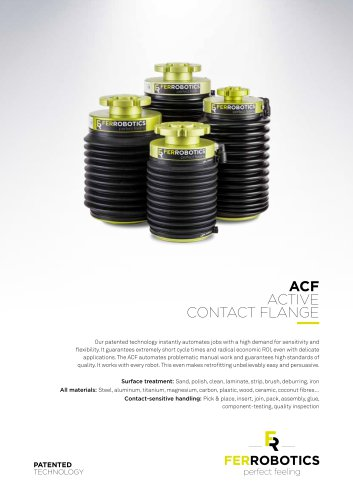 ACF - Active Contact Flange