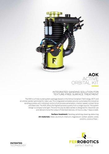 AOK - Active Orbital Kit - FerRobotics Compliant Robot
