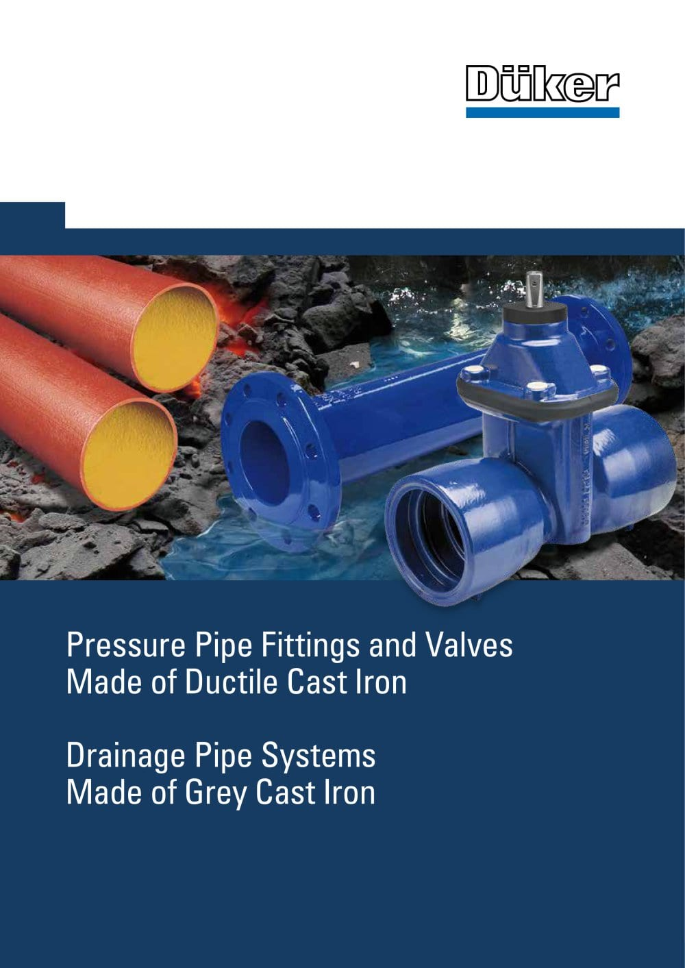 Pressure Pipe Fittings and Valves - 1 / 11 Pages  sc 1 st  Catalogues Directindustry & Pressure Pipe Fittings and Valves - Düker GmbH - PDF Catalogue ...