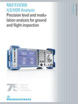 R&S®EVS300 ILS/VOR Analyzer
