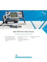 R&S®NRP Power Meter