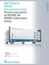 WiMAX Communication Tester