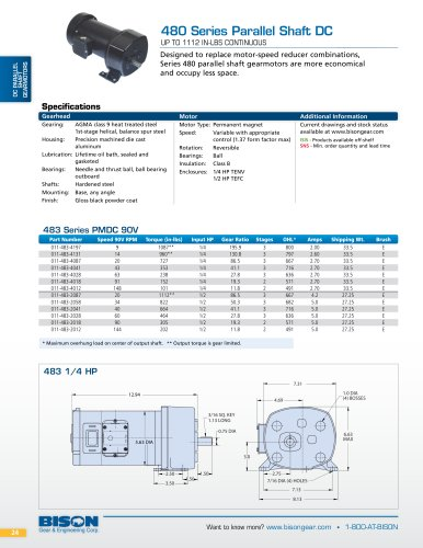 Bison gear general catalog