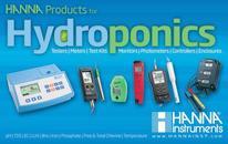 HANNA instruments 2012 Hydroponics Catalog