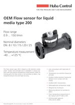 OEM Flowsensor for Liquids