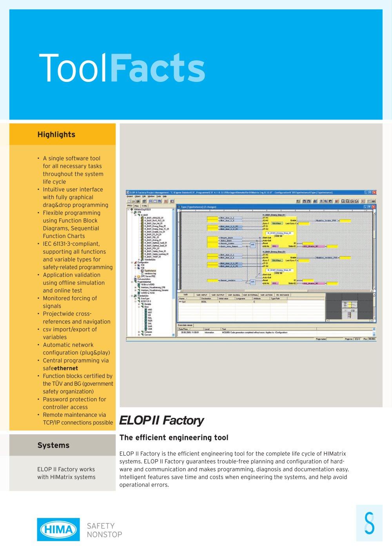 Elop Ii Factory Toolfacts Rev1 0929 Hima Pdf Catalogue Pentium 2 Block Diagram 1 Pages