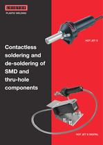 Contactless soldering and de-soldering and SMD thru-hole ...