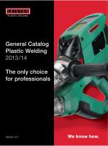 General Catalog Plastic Welding