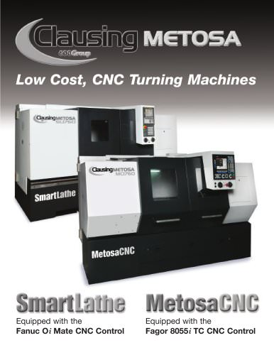 Clausing Metosa CNC - 600 Group - PDF Catalogs | Technical