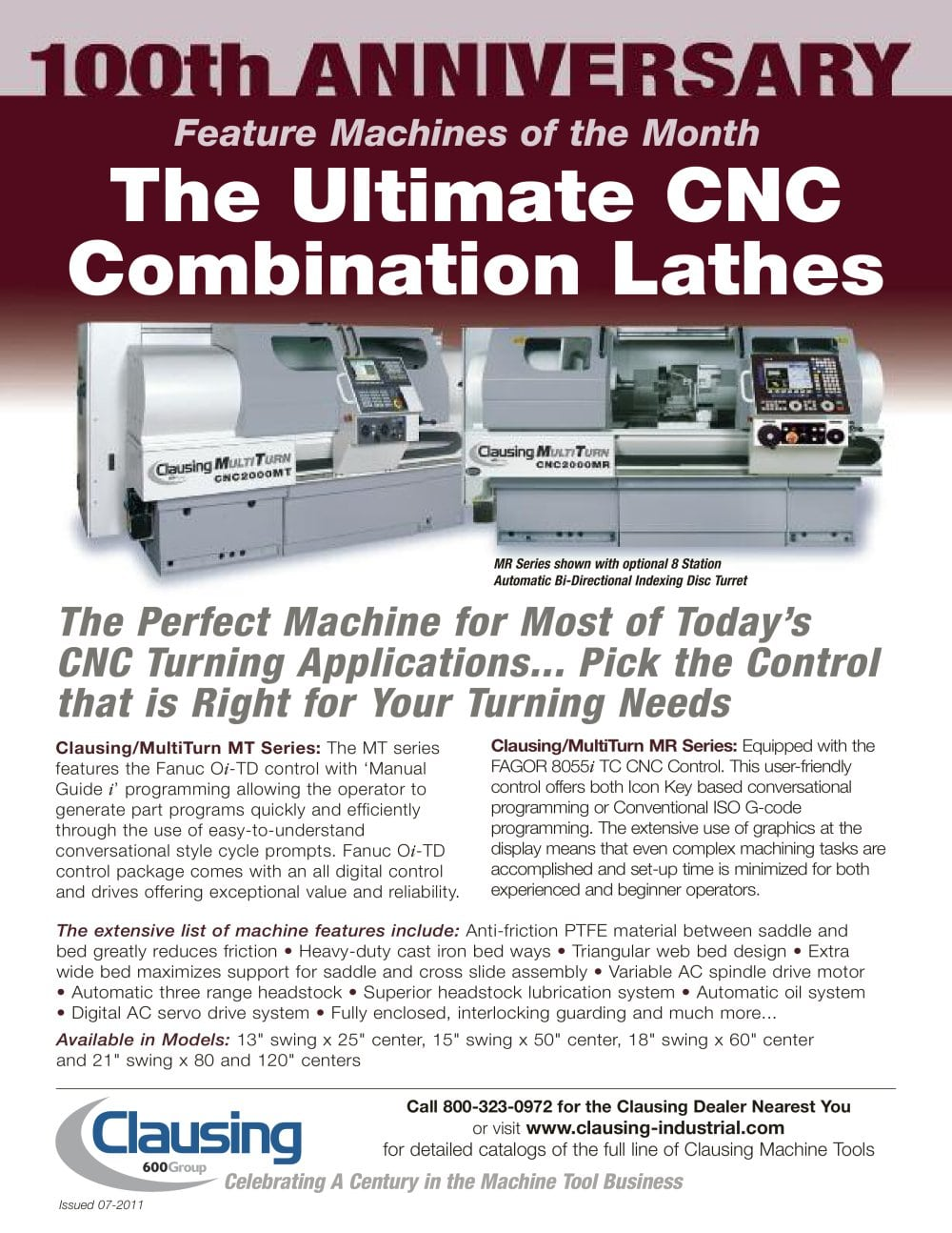 The Ultimate CNC Combination Lathes - 1 / 1 Pages