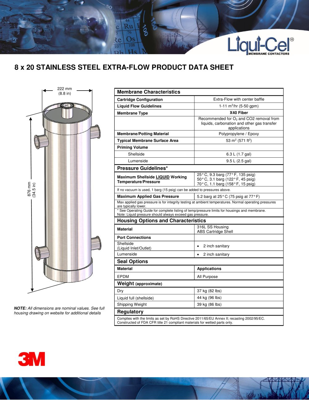 Liqui Cel  Stainless Steel 1 2 Pages