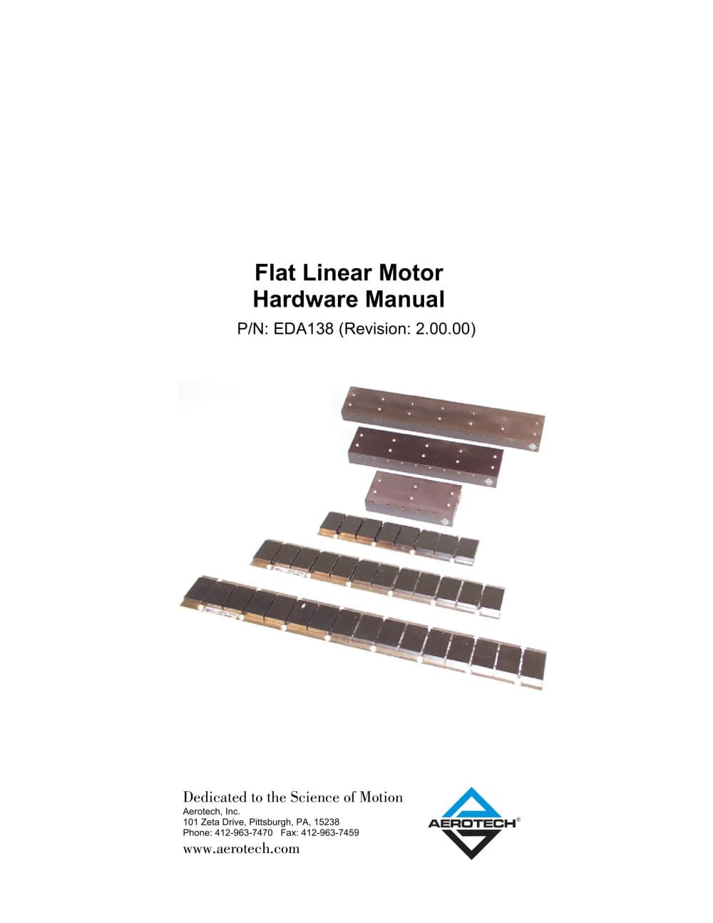 Flat Linear Motor Hardware - 1 / 48 Pages