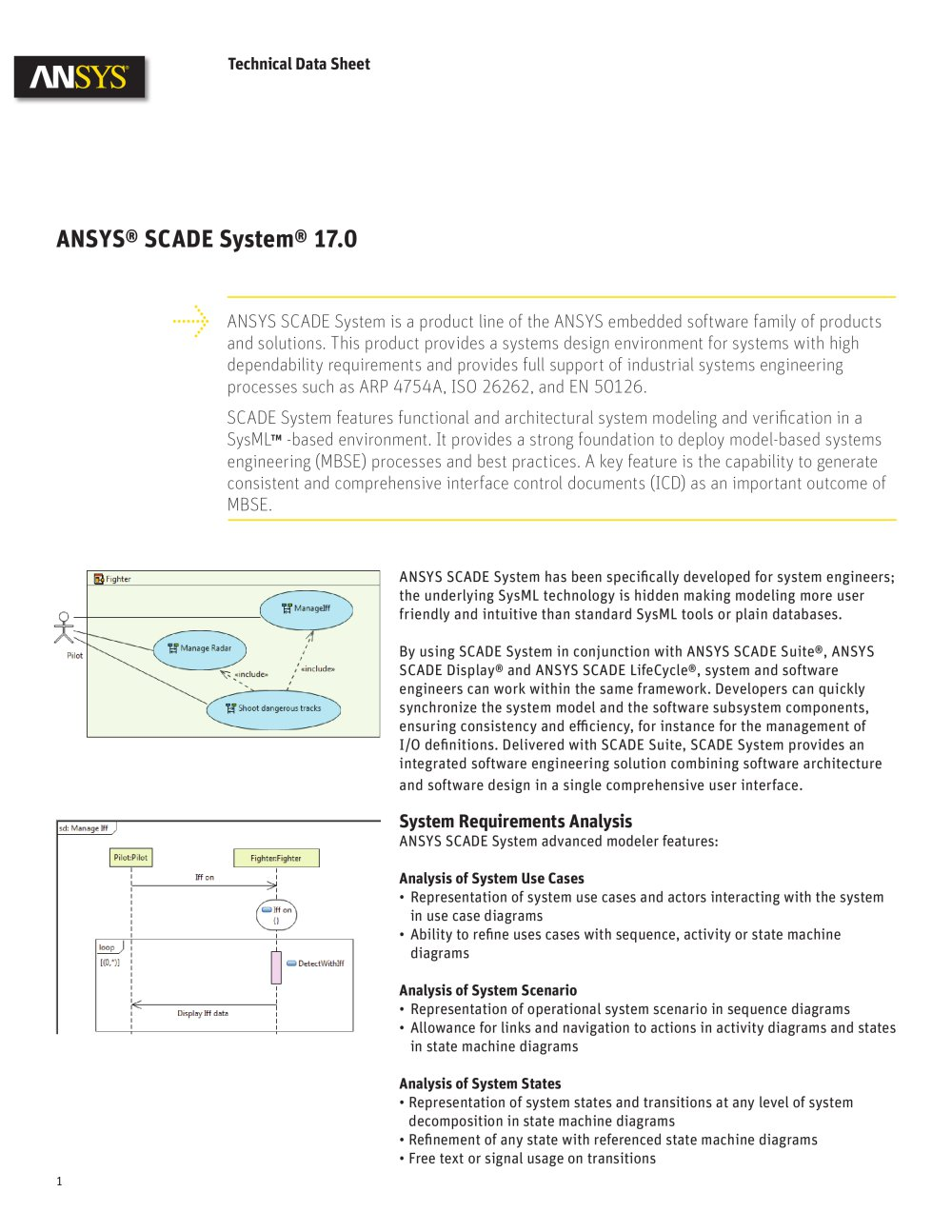 Ansys scade system 170 ansys pdf catalogue technical ansys scade system 170 1 6 pages ccuart Choice Image