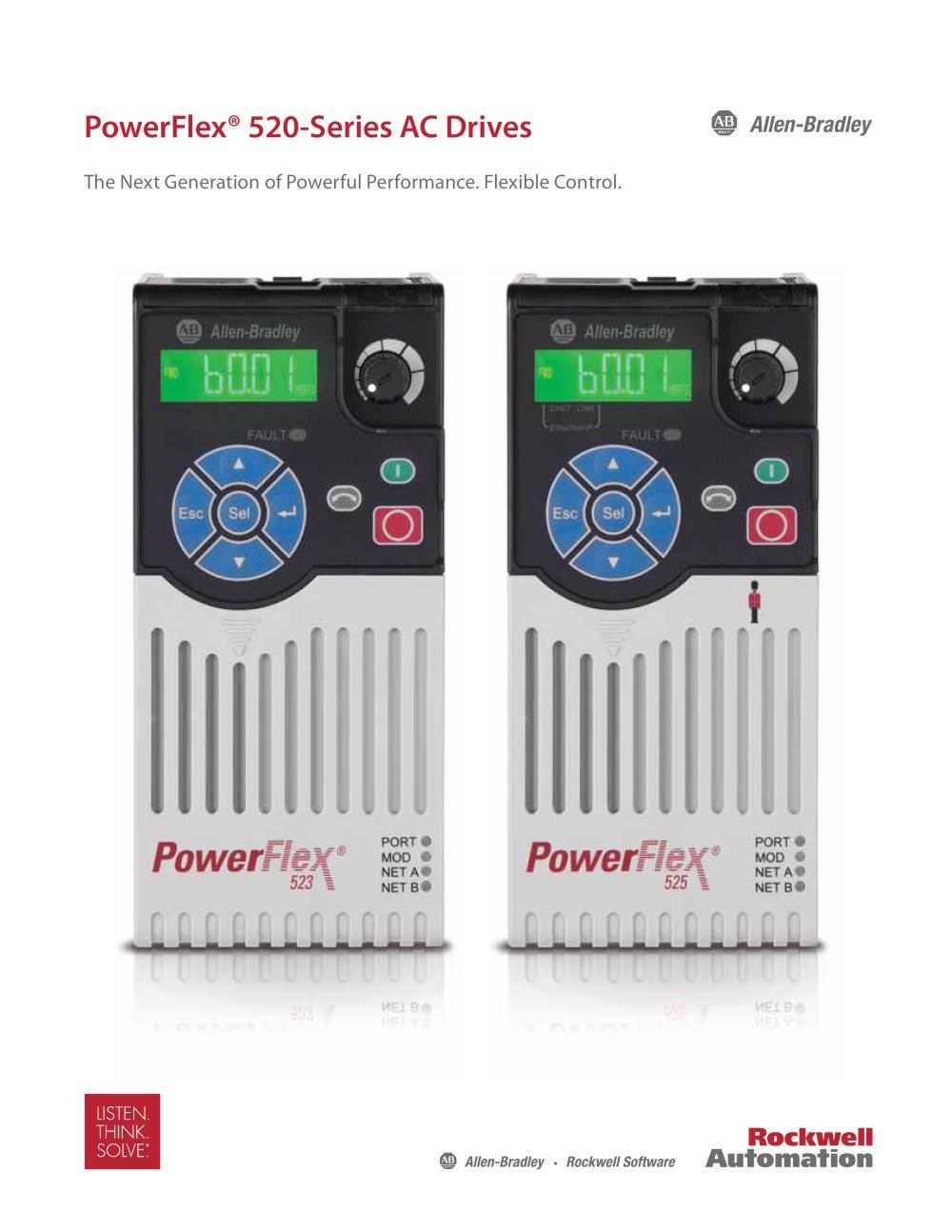 PowerFlex® 520 - Allen-Bradley - PDF Catalogue | Technical ...