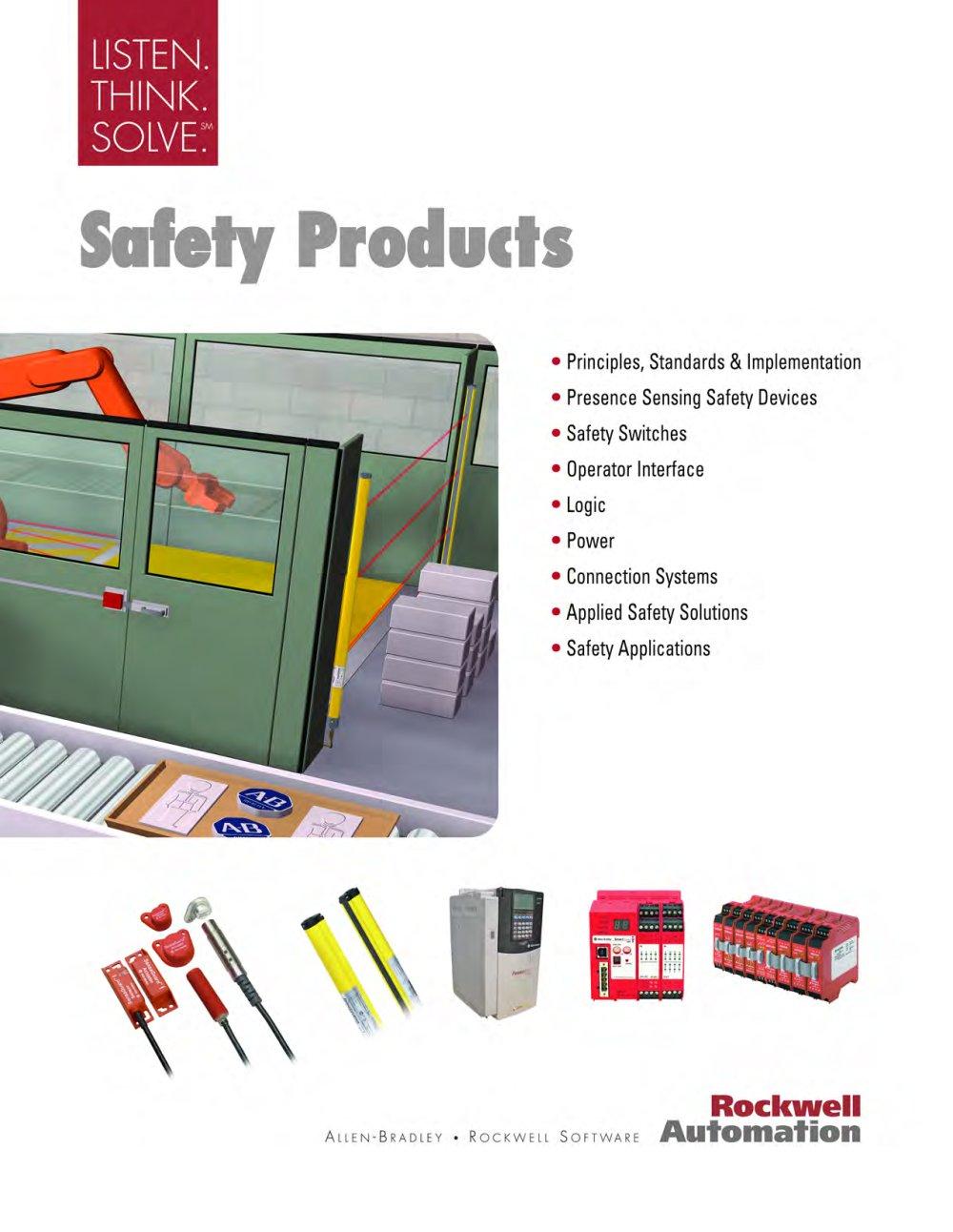 S116 Safety Products Catalog - Allen-Bradley - PDF Catalogue ...