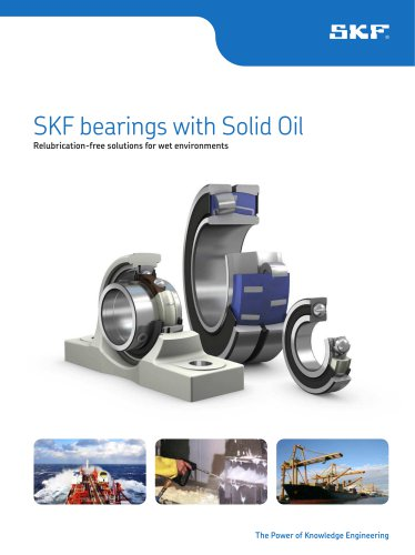 SKF bearings with Solid Oil - SKF Precision Bearings - PDF Catalogs