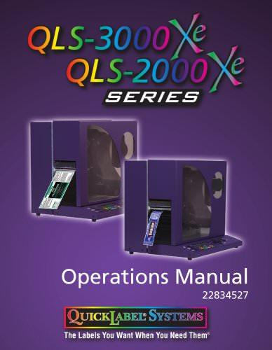 QLS-200x/300x Xe Series: Industrial Color Label Printers