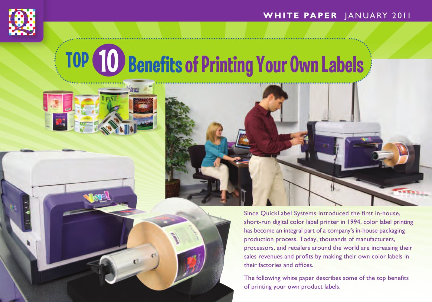 The Top 10 Benefits Of Printing Your Own Labels