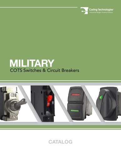 Military Catalog - Carling Technologies - PDF Catalogs
